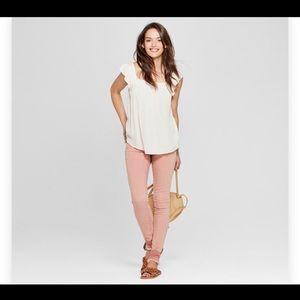 Universal Threads Salmon skinny jeans 22wr 18w new
